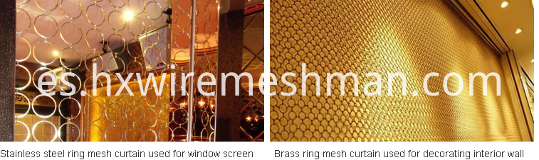 metal ring mesh use