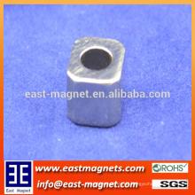 8x8x10mm mit D5mm Loch neodymiun Magnet für Verkauf / cavhollow Form ndfeb Magnet für Verkauf