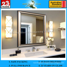 1.5-5mm Single Coated Aluminum Mirror with AS/NZS 2208