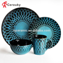 China manufacturer hotel restaurant custom various ceramic dinnerware set