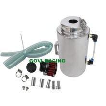 2L de aceite de aluminio puede capturar el tanque de combustible con filtro de aire Breaher