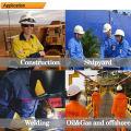 Algodão / Nylon funcional resistente ao fogo bib-pants de trabalho
