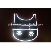 EN471 / ANSI Chalecos impermeables de alta luz reflectante para mascotas