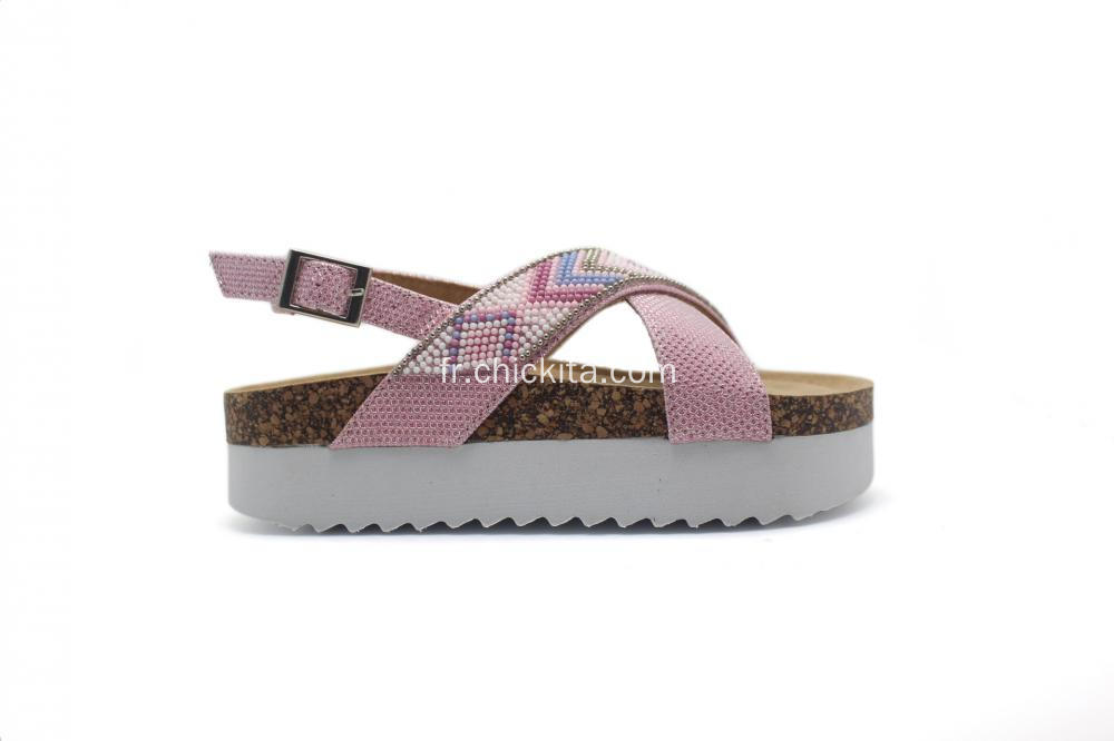 Enfants Birkenstocks confortables avec sangle