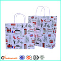 Custom Printed Recycled Paper Shopping Bags