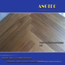 Plancher en bois d'ingénierie de plancher de parquet de chevrons