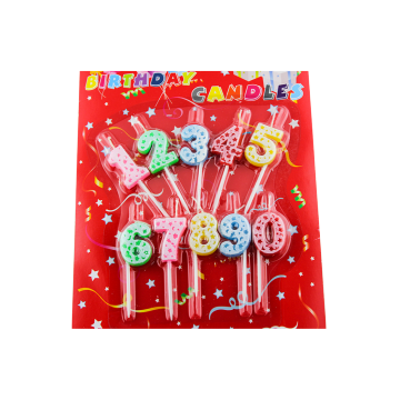 Cake Topper Decoratieve Fancy Birthday Candle