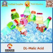 Acido málico de Dl-Malic / grado alimenticio, Baverage, mercado de China de ácido L-málico