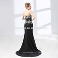 sexy black evening dress see through lace off shoulder long evening dress long style beaded mature sex evening dress for bride