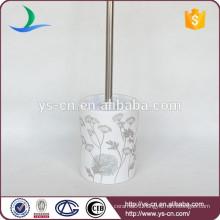 YSb50035-02-tbh Decal porcelain toilet brush holder