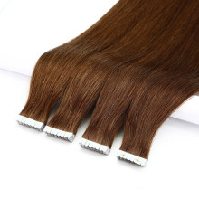 Hair for Wholesale Remy Weft Double Drawn Brazilian Human Virgin Tape Hair Extensions100 Grams