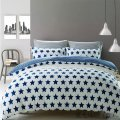 100% pigment printed cotton bedding set bed duvet cover set