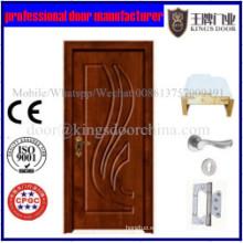 Descuento Venta de alta calidad precio barato interior PVC MDF puerta