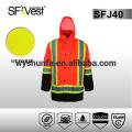 Hi vis jacket chaqueta de seguridad reflectante 3m chaqueta de seguridad reflectante chaqueta de seguridad invierno CSA Z96-09