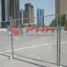 Chain Link Fencing for Temporary Fence