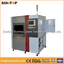 Máquina de corte do laser da precisão elevada / máquina de corte do metal do laser do tamanho pequeno