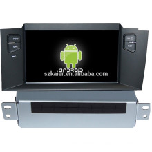 Фабрика!Система Android автомобиля мультимедийный плеер для C4L Citroen с GPS,есть Bluetooth,3G и iPod,игры,двойной зоны,управления рулевого колеса