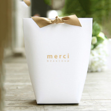 Small Pillow Box Ribbon Shirt Necktie Packaging bag