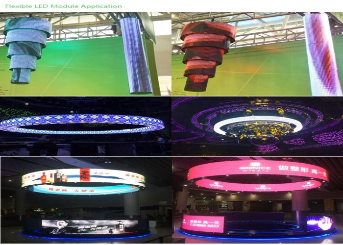 P6.6 Display de LED Soft Indoor Ultrafino Colorido