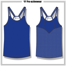Vente en gros Custom Women Gym Tank Top Fitness Tank Top