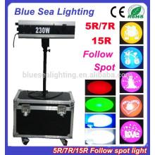 5R / 7R / 15R Mini folgen Spot Licht Bühnenbeleuchtung Hochzeit Lichter