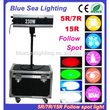 5R/7R/15R mini follow spot light stage lighting wedding lights