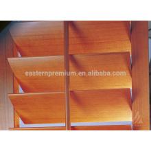 Listones de madera del obturador de la plantación de la alta calidad 63m m / 89m m / 114m m y obturador de la ventana