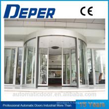 Porte pliante en verre d'acier sans cadre extérieure / porte pliante