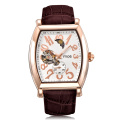 casual rose gold sports flying tourbillon men s watch