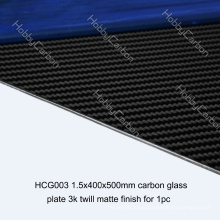 FPV Drone 1.5x400x500mm Twill Matte Carbon Plate Carbon Sheet for Cutting