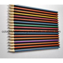 Vente en gros de crayons Hb dépouillé avec fin creusée