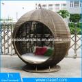 Hot Sale Low Price PE Rattan Apple Sunbed