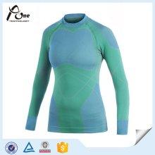 Manga larga adelgazamiento de las mujeres térmica ropa interior / undershirt
