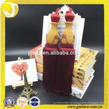 2016 Art und Weise dekorative handgemachte Baumwollvorhang-Troddel