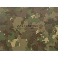 Baumwoll Nylon Interweave Camouflage Stoff für Kampfuniform