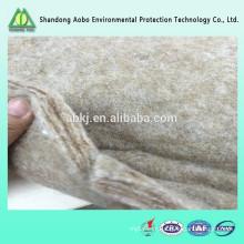 Excellente qualité non-tissé aiguilleté Ramie fibre feutre / rembourrage de fibre de ramie