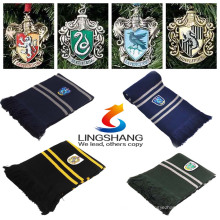 Moda Lenço Unissex Harry Potter Gryffindor Cachecóis Ravenclaw xales Magic School Slytherin Pashmina Cosplay HLDWJ-1