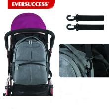 Die Rucksack-Wickeltasche ist die perfekte Tasche für unterwegs oder unterwegs, Kleinkind oder Einkaufen