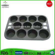 Galletas de hierro fundido rectangulares para hornear