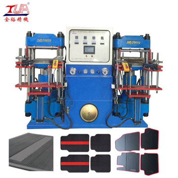 Tailored Rubber Car Mat Hydraulic Forming Making Machine