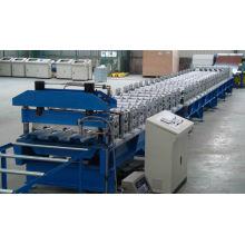 Профилегибочная машина для производства кровельных панелей