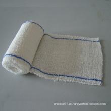 Bandagem de crepe 100% algodão de alta qualidade