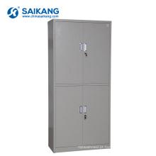 Armário do instrumento médico da medicina de quatro portas do hospital SKH058 com fechamento