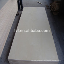 E1 glue grade Birch faced poplar core plywood