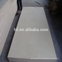 E1 glue grade Birch faced poplar core plywood