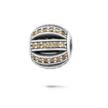 925 Silber Perlen Europäische Armbänder Perlen CZ Schmuck