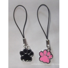 Metal Paw Shaped Phone Strap of Mobile Phone Accessory