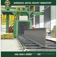 Máquina de jateamento de estrutura de aço