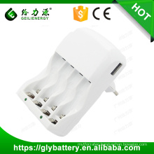 GLE-903 AA/AAA Rechargeable Battery Super Quick Charger made in China