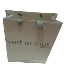 Bolsa de papel impresa para la promoción
